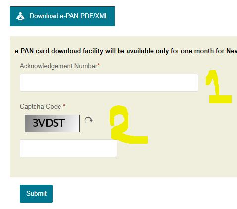 How To Download E Pan Card