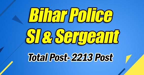 Bihar Police SI