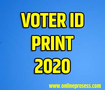 Duplicate Voter Id Card Download
