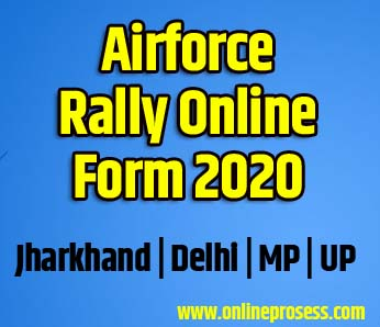 Airforce Rally Online Form 2020 - Airforce Open Rally 2020