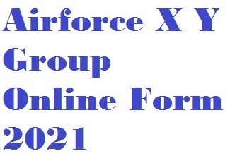 Airforce X Y Group Online Form 2021